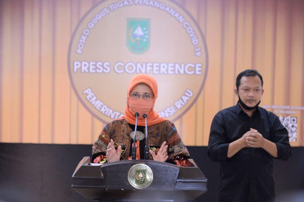 Kadiskes Riau: Sebanyak 4.975 Orang ODP Dalam Proses Pemantauan