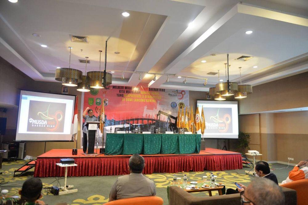 Kadiskominfotik Riau Buka Musda ke-VIII Orari Riau