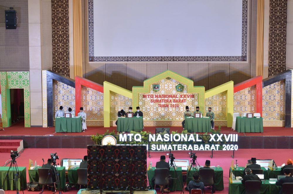 Kafilah Tahfiz 10 Juz Putra dan Putri Ditargetkan Masuk Final di MTQ Sumbar