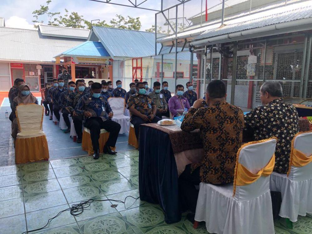 Kakanwil Kemenkum HAM Riau Ingatkan Petugas Lapas Kuansing Jaga Integritas