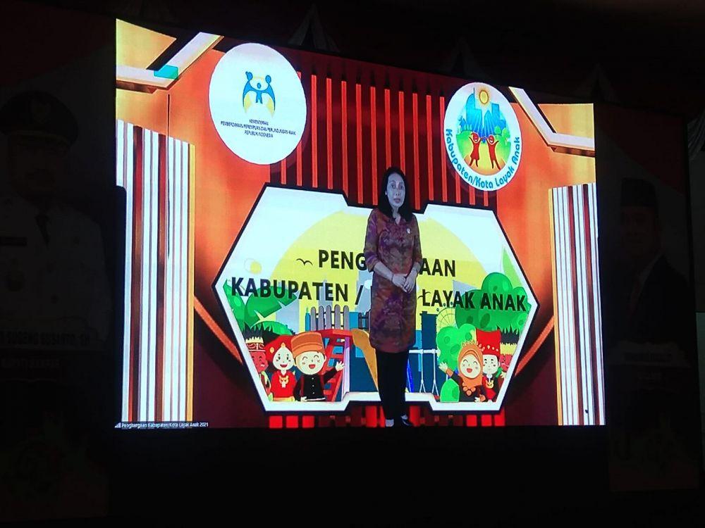 Kampar Raih Penghargaan KLA Tingkat Madya Dari Kementrian PPPA RI