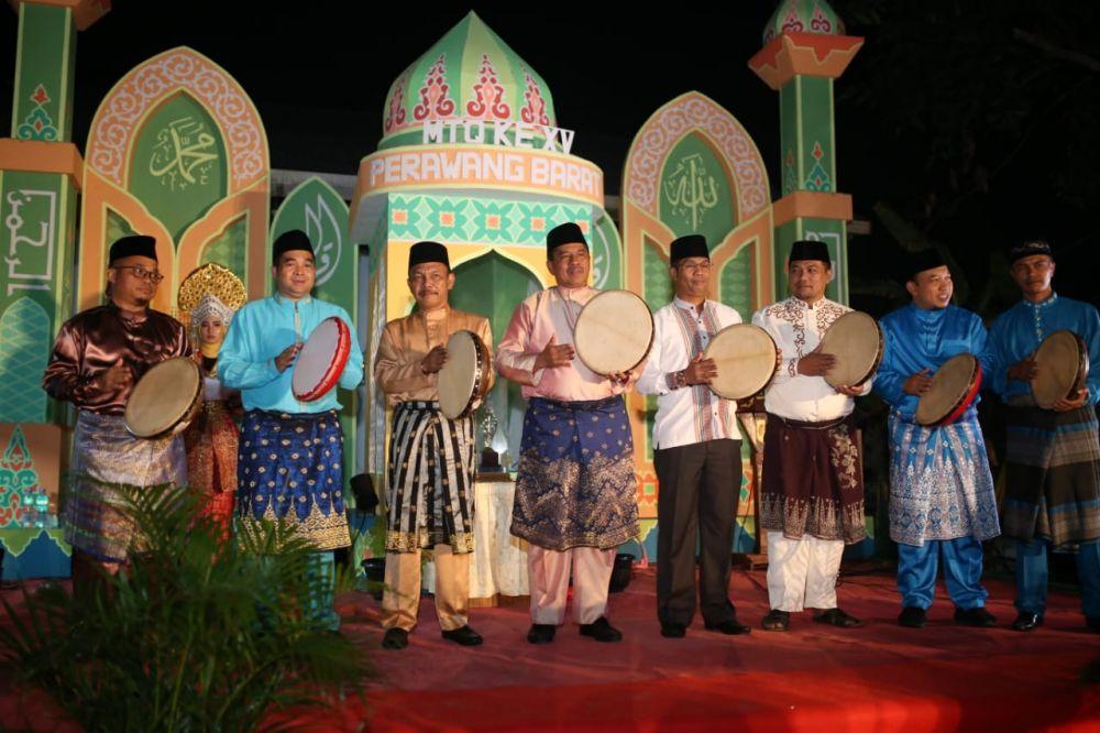 Kampung Perawang Barat Gelar MTQ XV, Bupati: Jadikan Ini Syiar Qurani