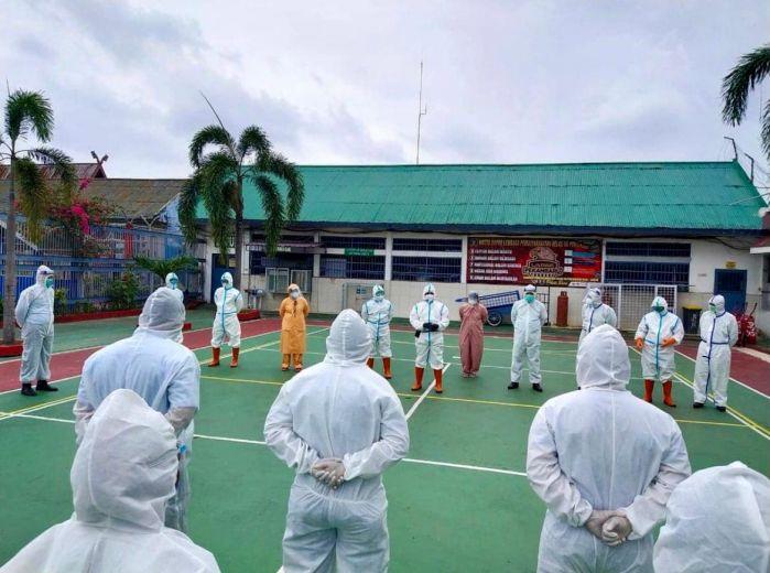 Kanwil Kemenkumham Riau: 98 Persen Warga Binaan Dinyatakan Sembuh Covid-19