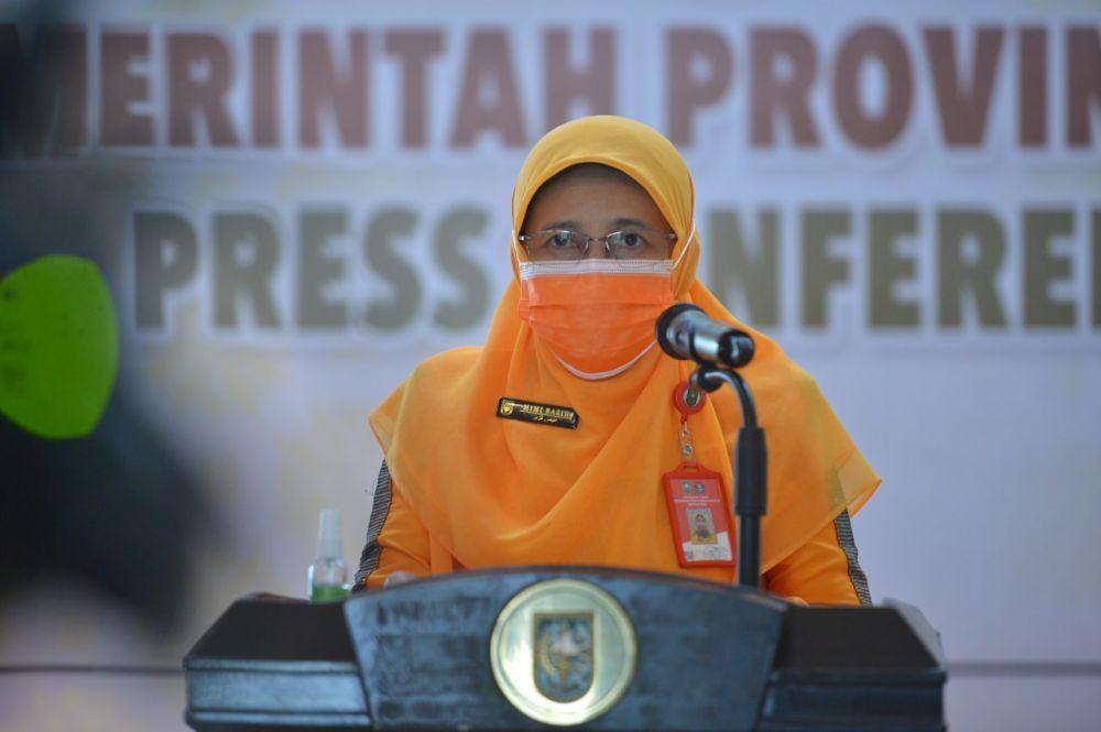Kasus Terkomfirmasi Positif di Riau Turun Drastis