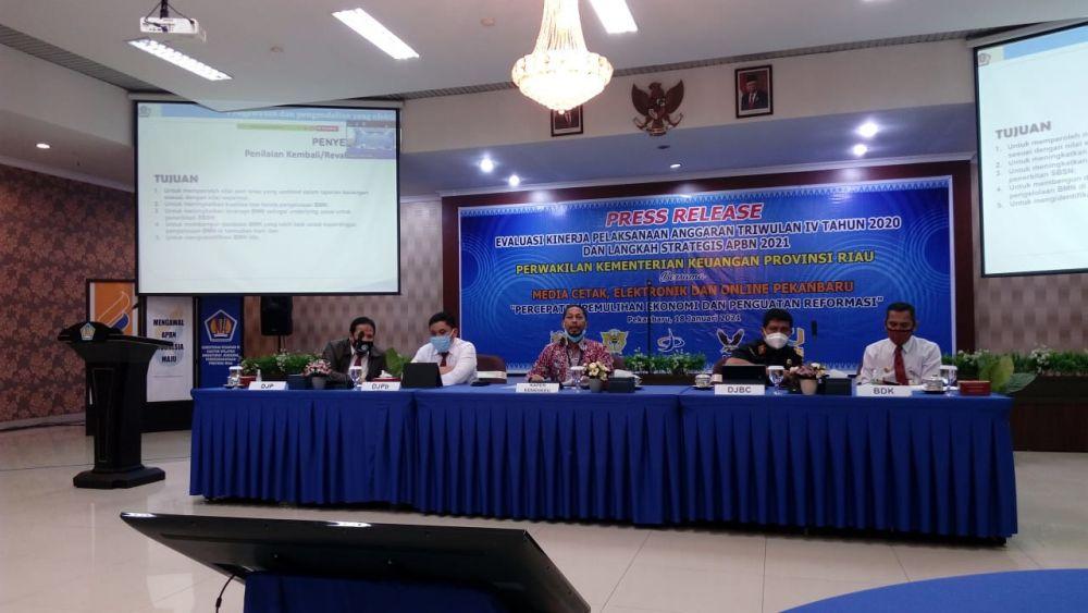 Kemenkeu Optimis Pertumbuhan Ekonomi Riau di Triwulan IV 2020 Dekati Arah Positif
