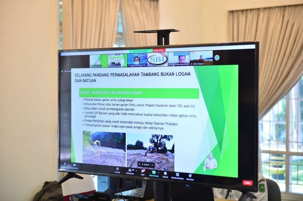 Kementerian ESDM Sampaikan Dampak Kegiatan PETI