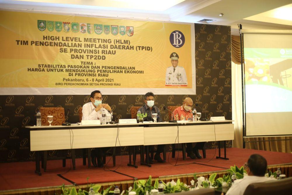 Kepala BI Riau Sampaikan Beberapa Upaya Pengendalian Defisit Pangan di Riau
