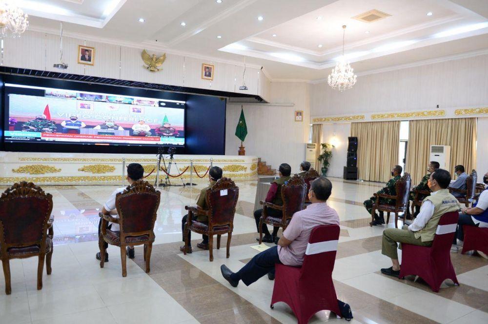 Kepala BNPB Apresiasi Provinsi Riau Terus Kampanyekan Warga Untuk Tidak Mudik