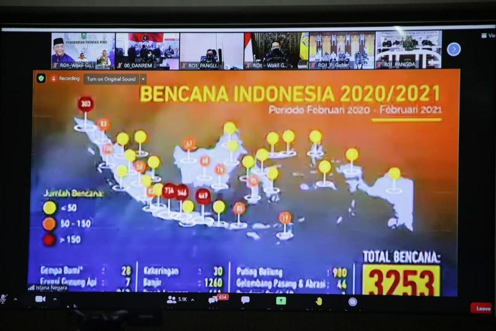 Kepala BNPB: Jadikan Momentum Setahun Covid-19 Untuk Lakukan Evaluasi