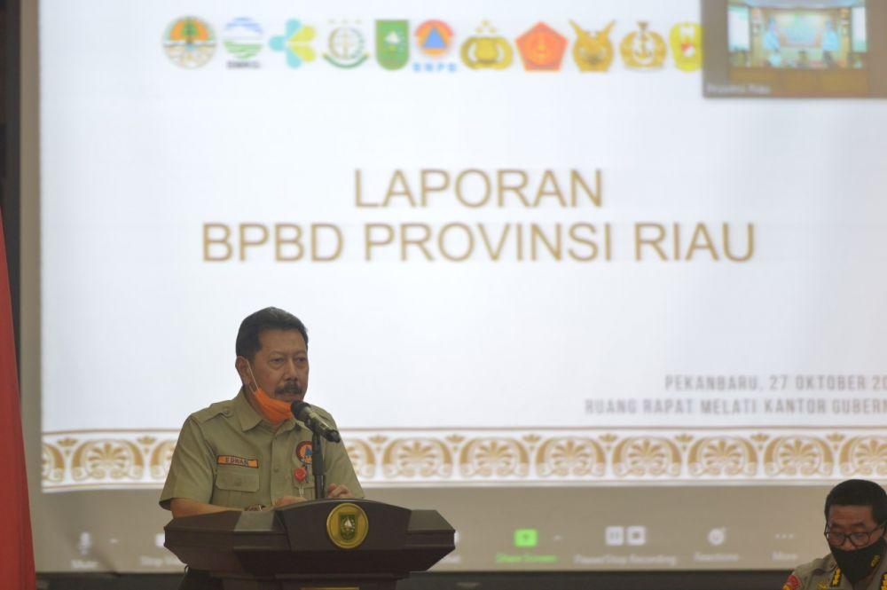 Kepala BPBD Riau Sebut Tahun 2020 Riau Bebas Kabut Asap