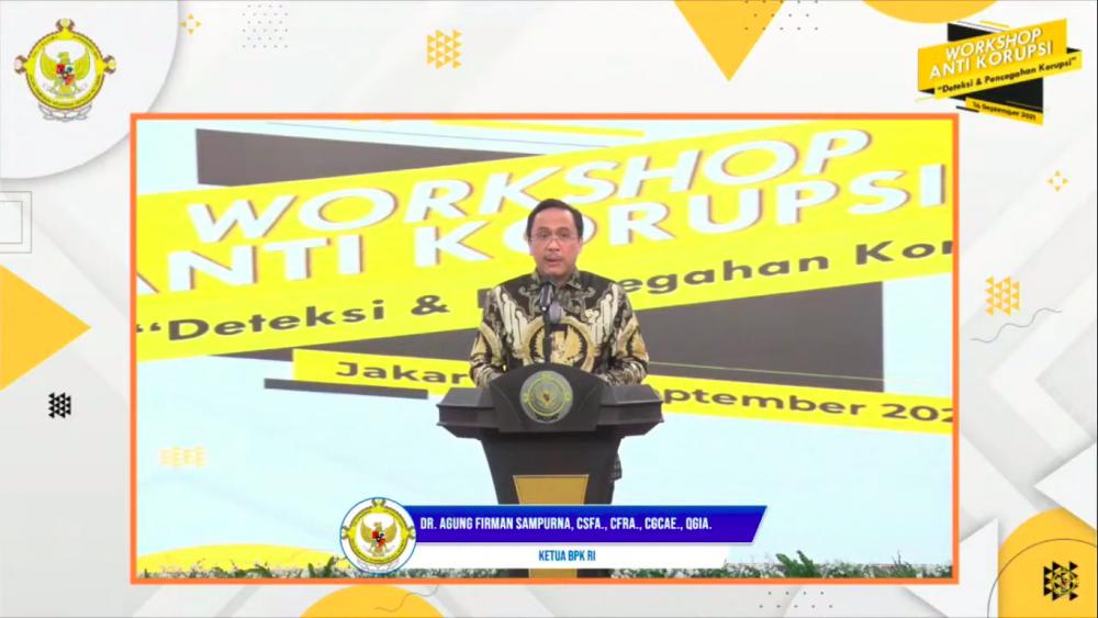 Ketua BPK RI Sampaikan Upaya Penanganan Permasalahan Anggaran PC-PEN