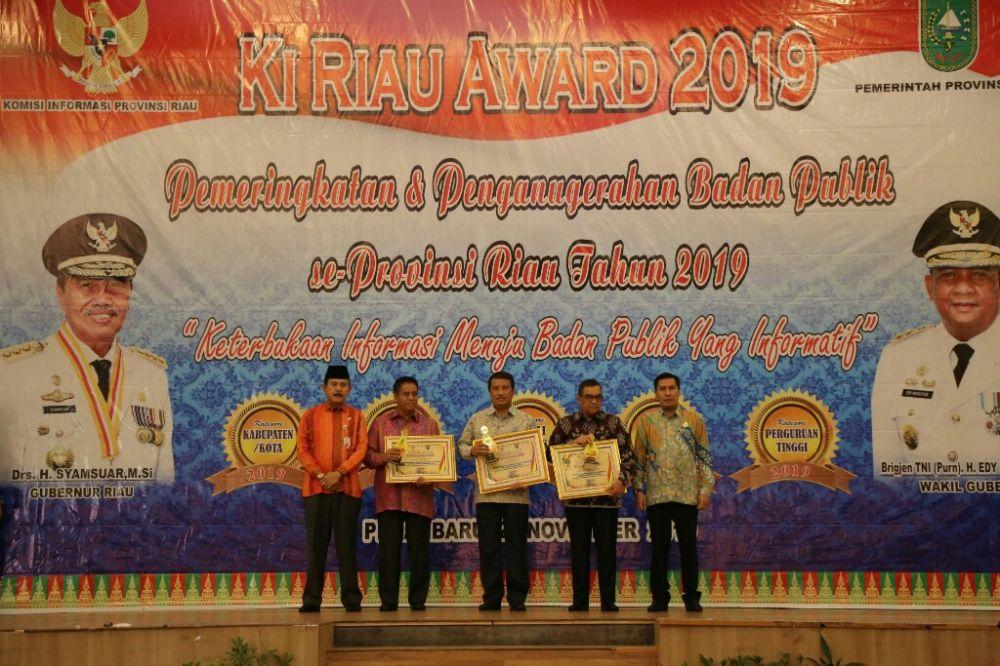 KI Provinsi Riau Gelar Komisi Informasi Award 2019