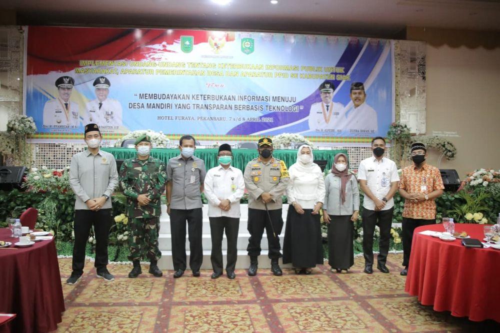 KI Provinsi Riau Taja Kegiatan Implementasi Keterbukaan Informasi Publik