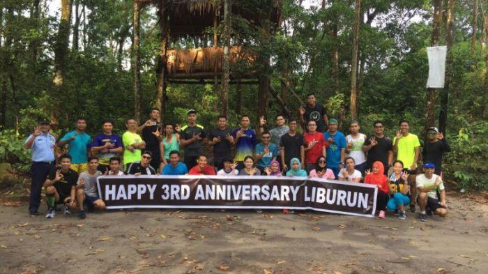 Mediacenter Riau Go Id Komunitas Liburun Pekanbaru Lari Lintasi