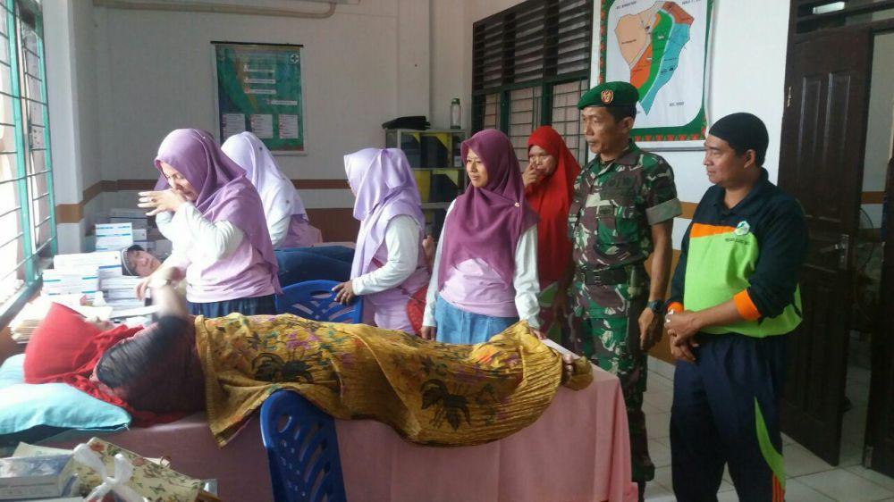 Koramil 08/Tandun Sosialisasi Pentingnya KB