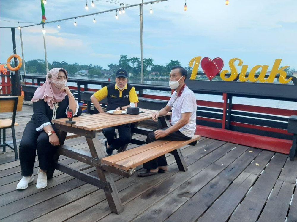 Kota Siak Sri Indrapura Miliki Pusat Kuliner di Tepi Sungai