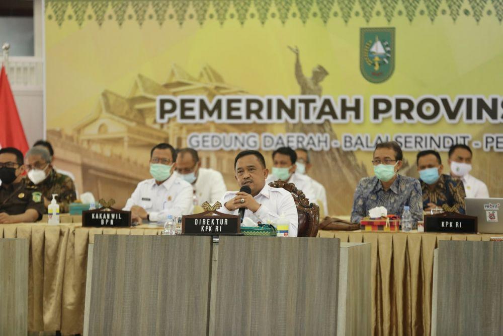 KPK Bantu Tuntaskan Permasalahan Pasar Cik Puan Pekanbaru