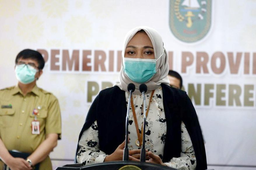 Kunjungi Riau, Staf Khusus Menkes RI Yakin dan Optimis Riau Bisa Cepat Tangani Covid-19