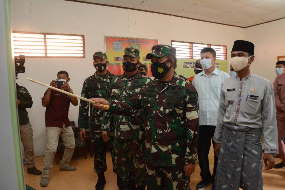 Kunker di Inhu, Pangdam Minta Vaksinasi dan PPKM Sesuai Standar Nasional