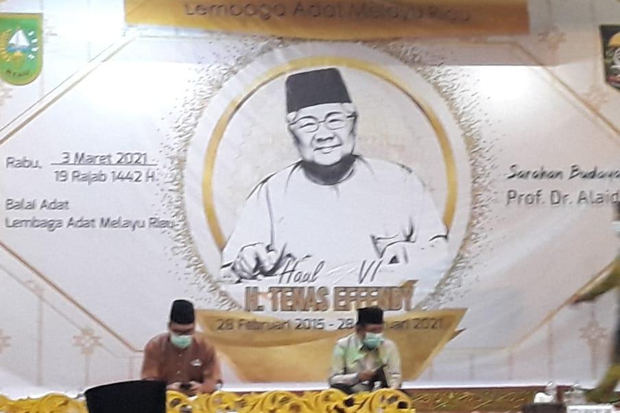 LAM Riau Gelar Haul  Tenas Effendy VI