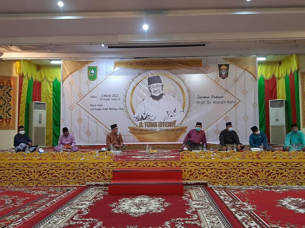 LAMR Bangga Karya Almarhum Tennas Effendy Jadi Pedoman Masyarakat Melayu