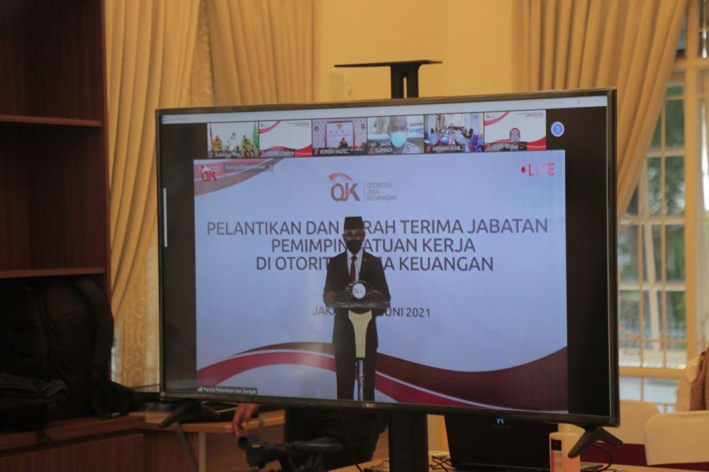 Lantik Pimpinan Satuan Kerja di Lingkungan OJK, Berikut Arahan Ketua Dewan Komisioner OJK
