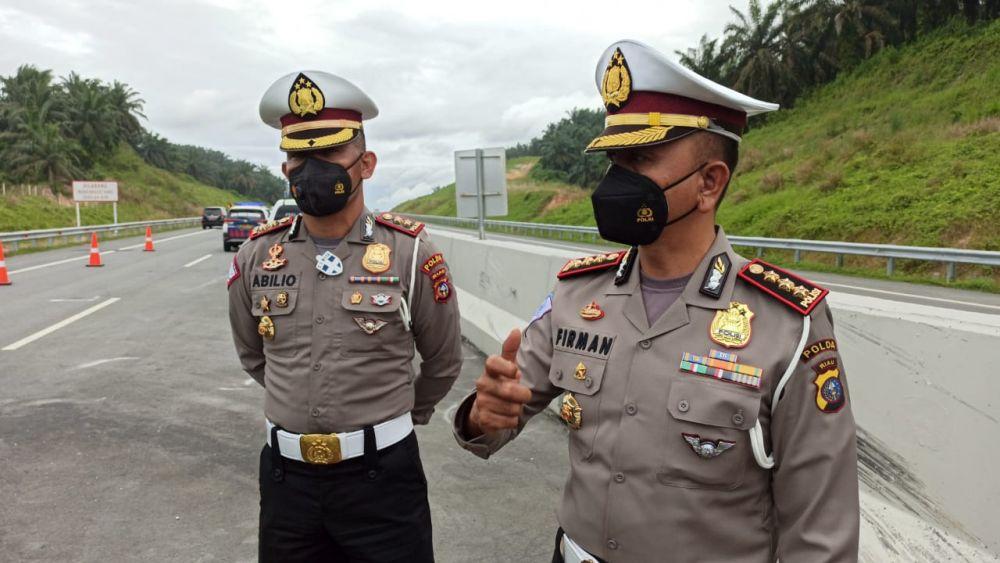 Lebihi Kecepatan Normal di Jalan Tol Pekanbaru-Dumai, Ditlantas Polda Riau Tindak Tegas