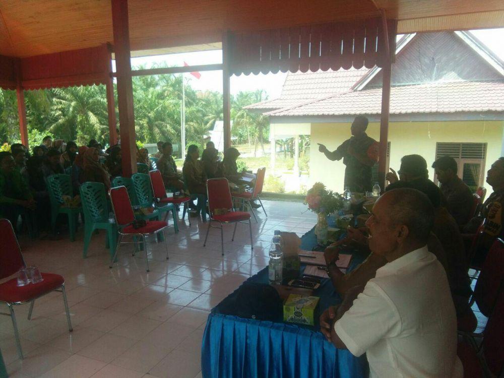 Masyarakat Desa Kabun Diingatkan Tentang Dampak Karhutla