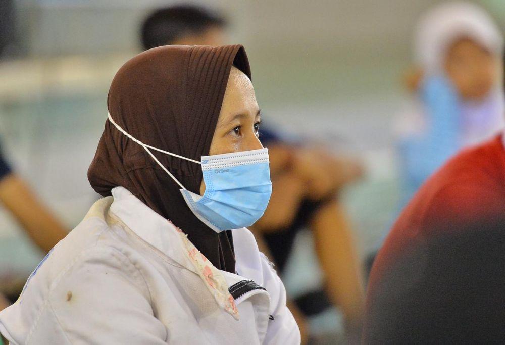 Megawati Atlet Anggar Terharu, Setelah15 tahun, Baru Gubri Syamsuar Datang Berkunjung