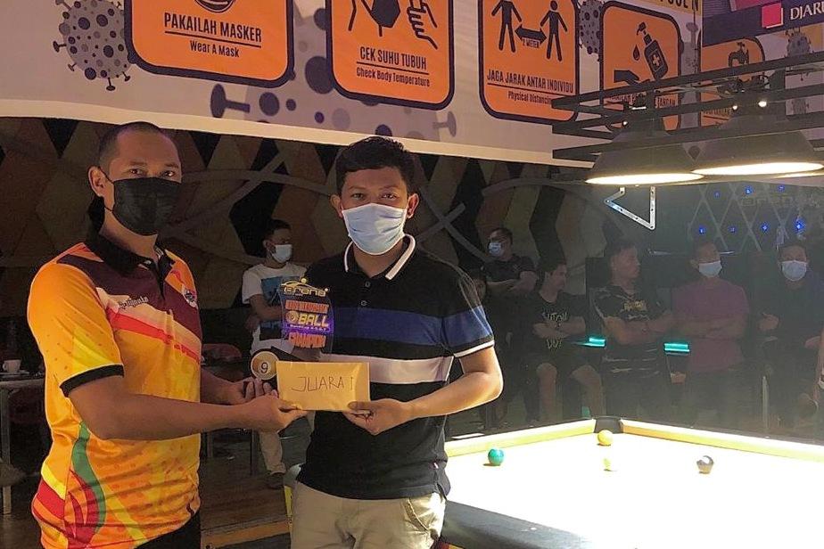 Ukir Prestasi di Masa Pandemi, Atlit PON Riau Juarai Open Turnamen 9 Ball