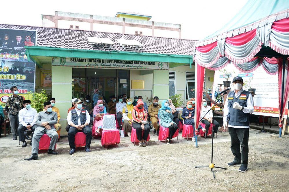 Meskipun Zero Covid-19, Gubri Tetap Ajak Masyarakat Rupat Gunakan Masker