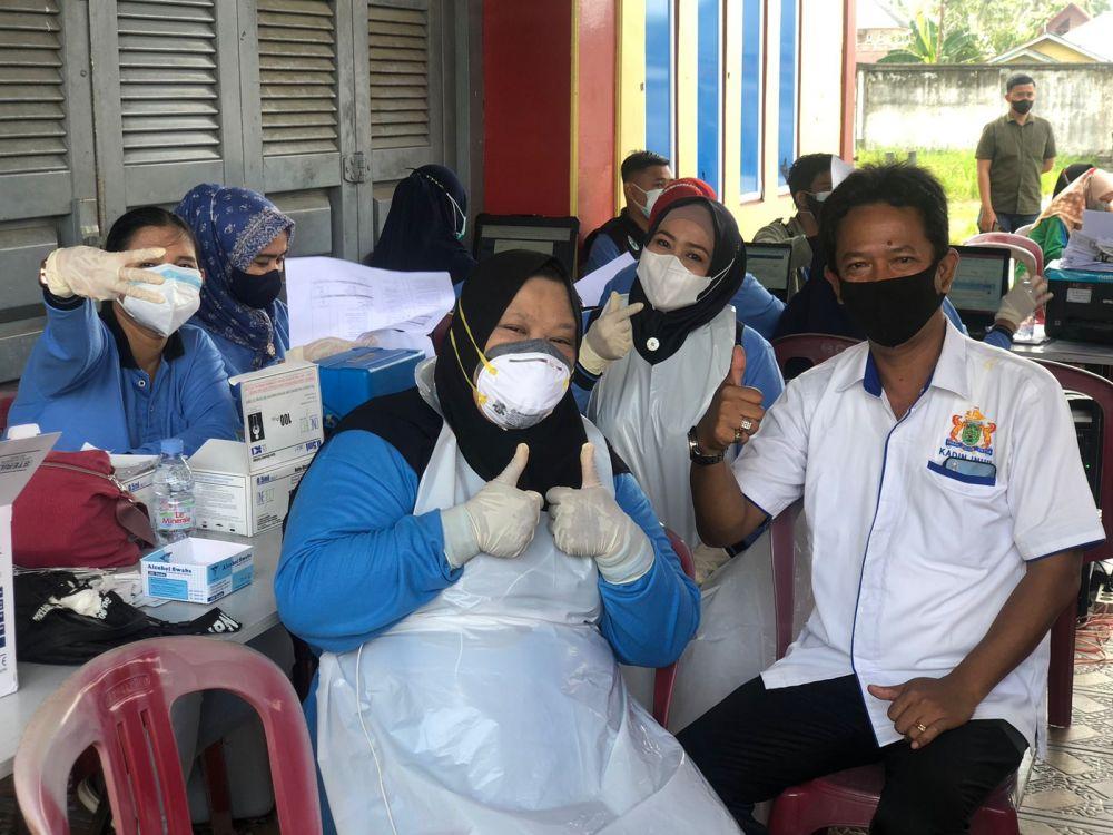 Milad ke-53 Kadin Indonesia, Kadin Inhil Siapkan 5.328 Dosis Vaksin untuk Masyarakat