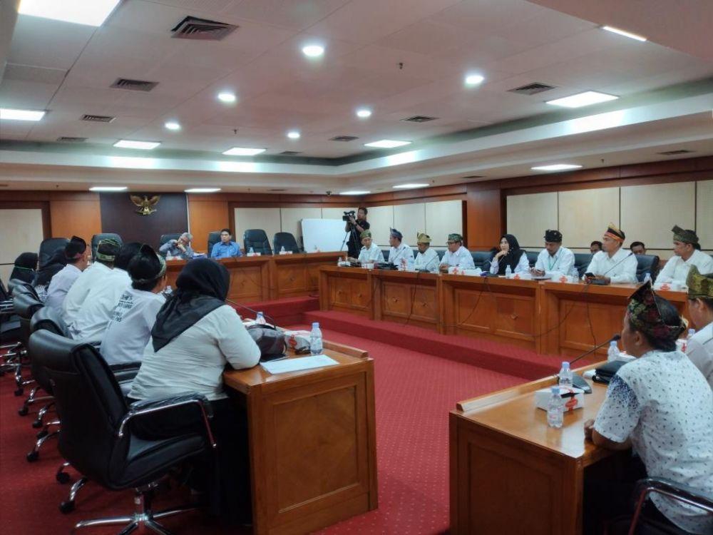Minta Diangkat Jadi PNS, GTKHNK Riau Mengadu ke Anggota DPR dan DPD RI Dapil Riau