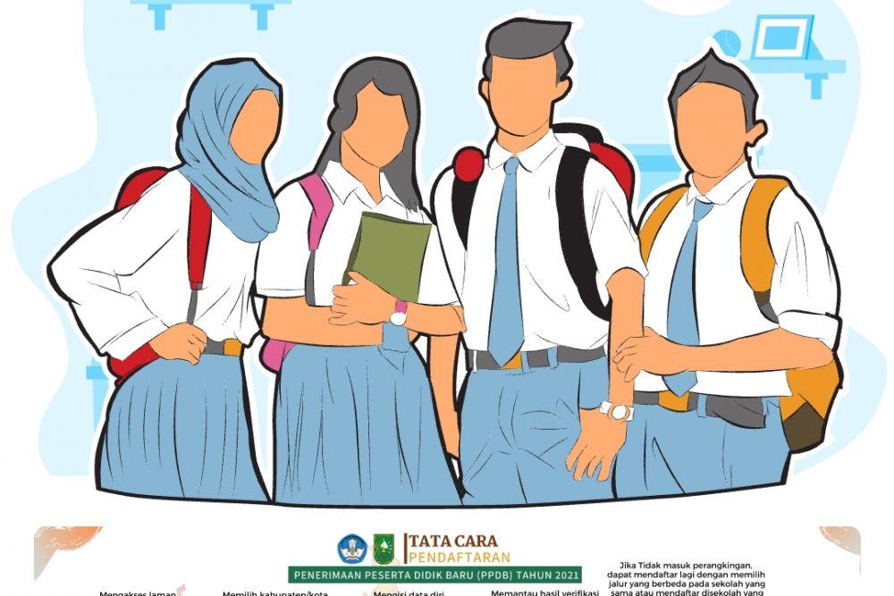 Mulai Dibuka Besok Pagi, Ini Website Untuk PPDB SMA/SMK Negeri di Riau