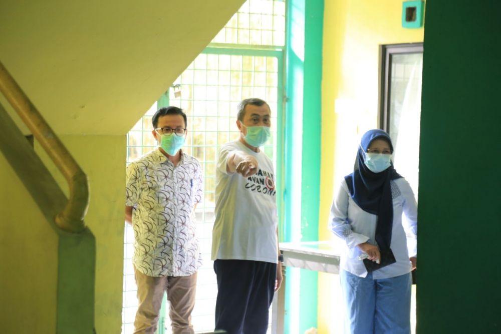 Mulai Dioperasikan, Sudah Ada Tiga Pasien Covid-19 Jalani Isolasi Mandiri di Asrama Haji Riau