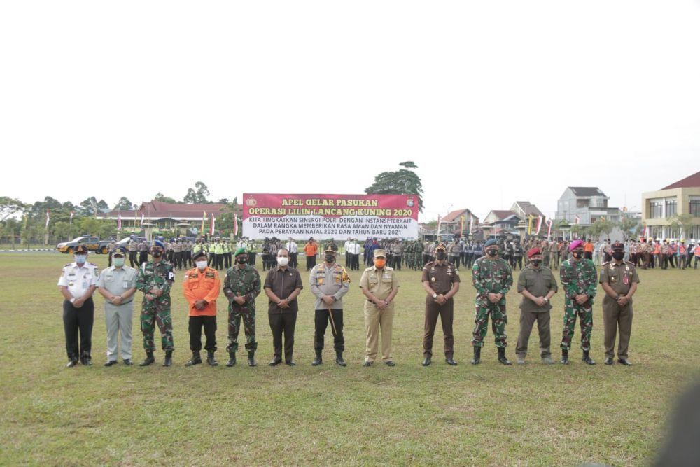 Nataru, Satpol PP Riau Turunkan 90 Personil