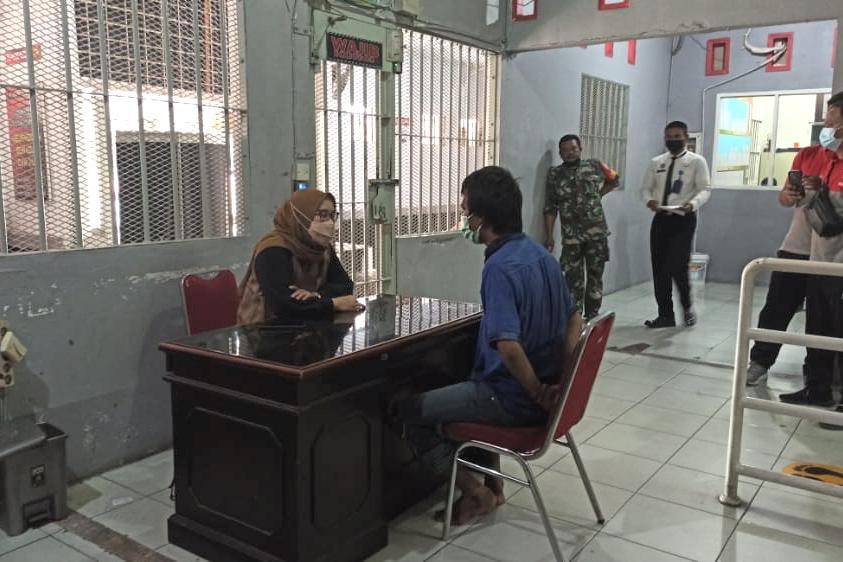 Nekat Loncat Pagar, Tahanan Rutan Pekanbaru Ditangkap Petugas