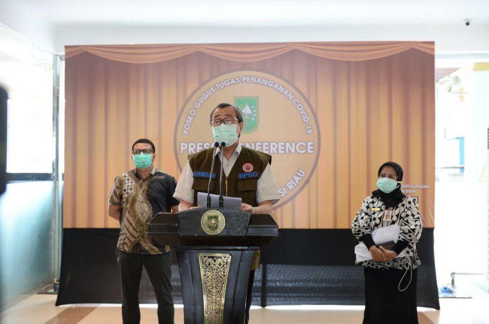 ODP Capai 20.004, Gubri: Karena Orang Datang ke Riau Langsung Berstatus ODP