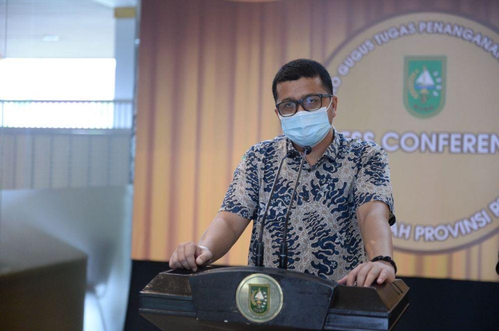 ODP dan PDP Tiap Hari di Provinsi Riau Berkurang