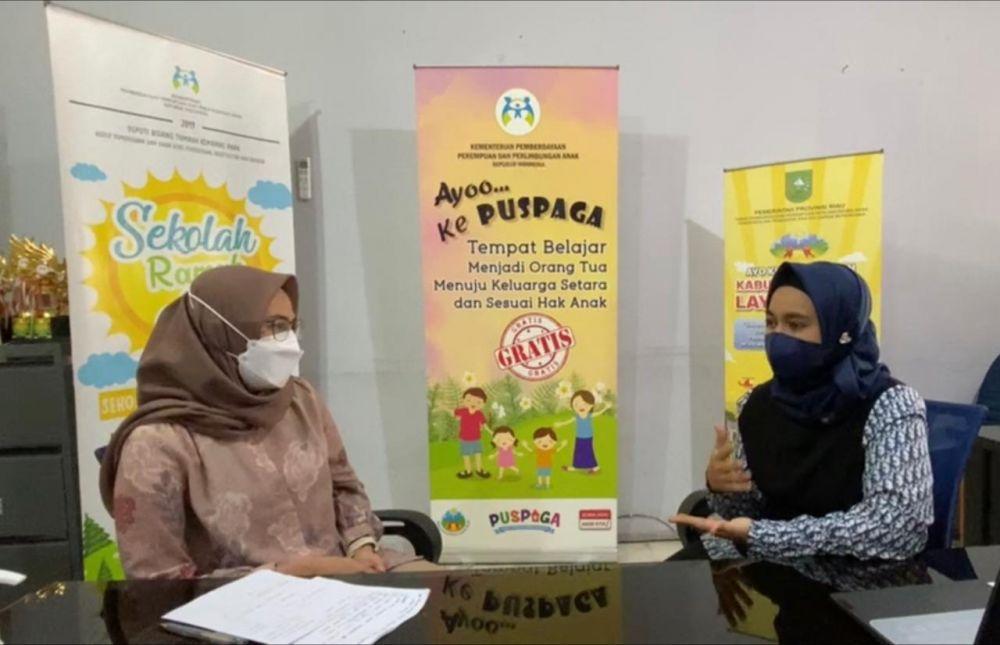 PADI PUSPAGA, Inovasi Layanan Pemprov Riau di Masa Pandemi
