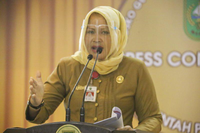 Pandemi Covid-19 Perpustakaan Soeman HS Riau Lebih Banyak Berikan Layanan Digital