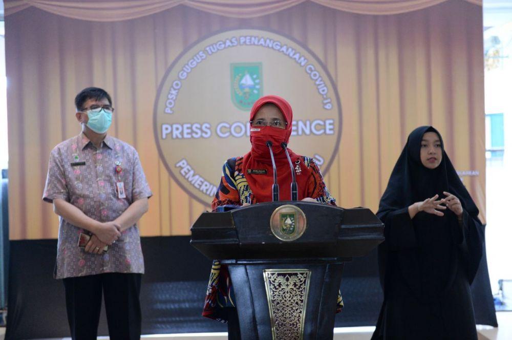 Pasien Sembuh di Riau Lebih Tinggi Dibandingkan Pasien Meninggal