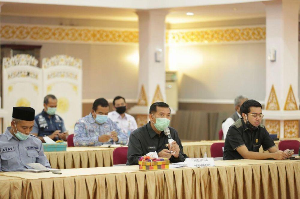 Pemko Prediksi Covid-19 di Kota Pekanbaru Akan Berakhir Juni 2020