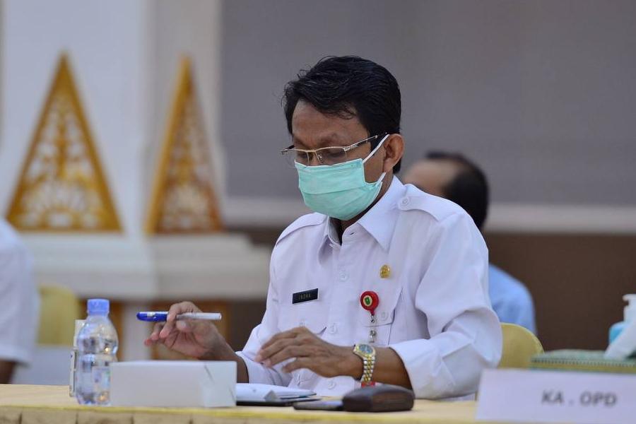 Pemprov Riau akan Tambah DTT Rp50 Miliar untuk Antisipasi Penanganan COVID-19 dan Karhutla