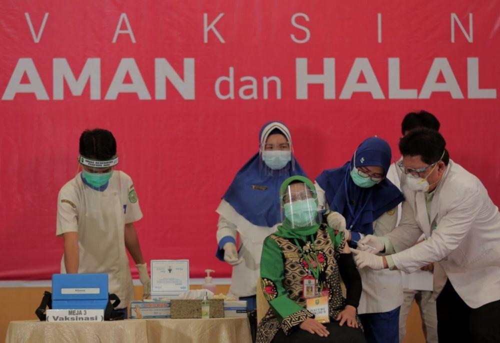 Pemprov Riau Distribusikan Vaksin Corona Tahap Dua ke Kuansing, Siak dan Bengkalis