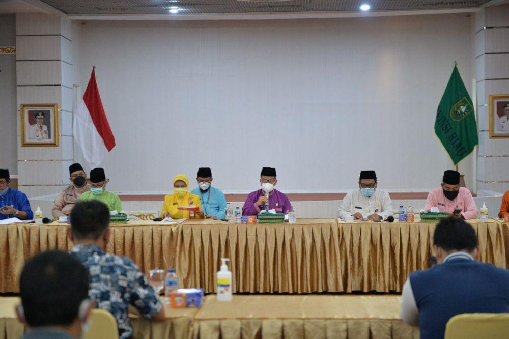 Pemprov Riau Gelar Refleksi Pembangunan Akhir Tahun 2020