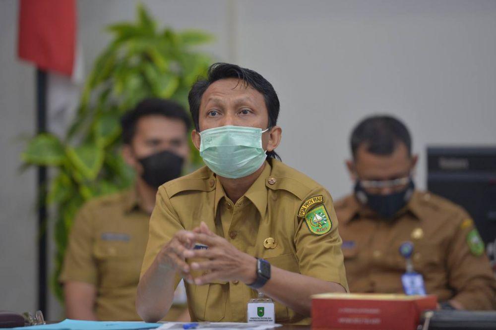 Pemprov Riau Kirim Surat Peringatan Pertama Ke Erizal Muluk Agar Bayar Ganti Rugi Kantor Eks Dispar Rp2,9 Miliar