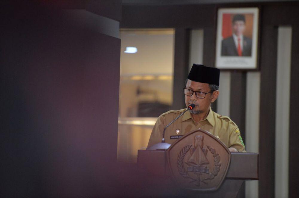 Pemprov Riau Transfer Bankeu Gaji Guru Bantu Rohul Sebesar Rp2,2 Miliar