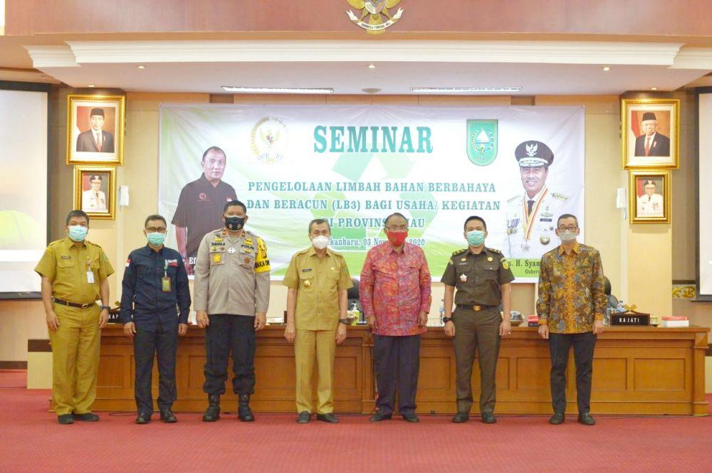 Pengelolaan Limbah Covid-19 di Riau Masih Baik