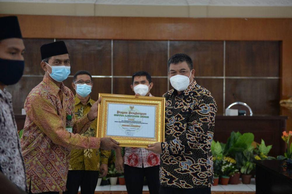 Penghargaan Setia Lestari Bumi Bentuk Apresiasi Pemerintah Pada Masyarakat